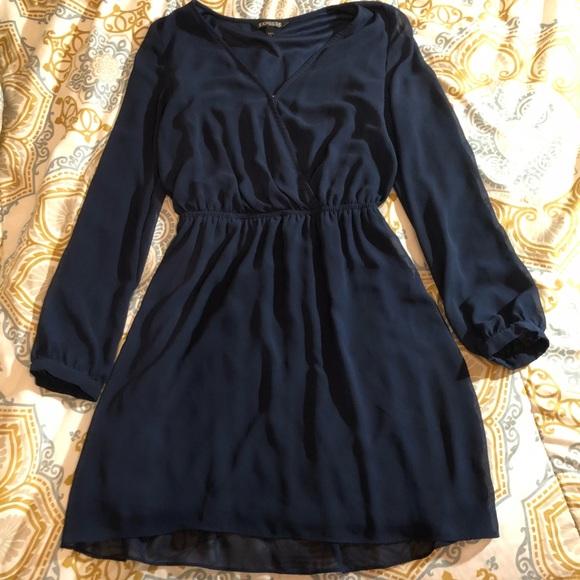 Express Dresses & Skirts - Express Blue Dress